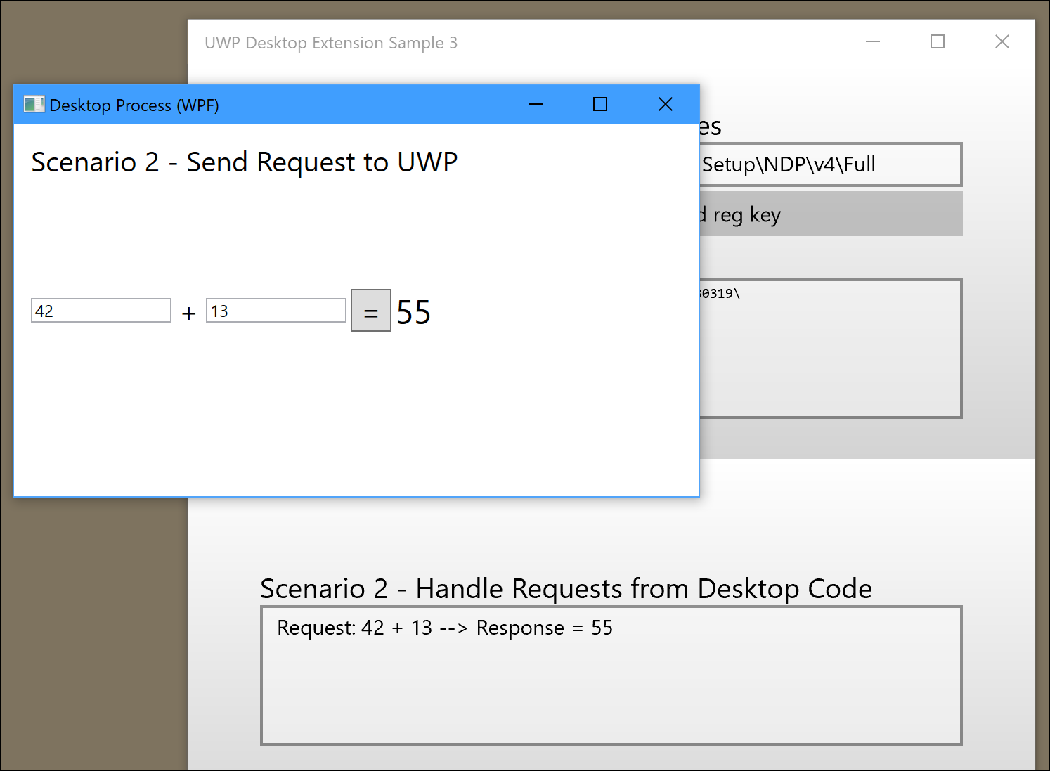 UWP with Desktop Extension – Part 3 – Insights into the