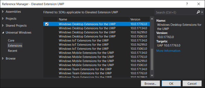 AllowElevation – Insights into the Universal Windows Platform
